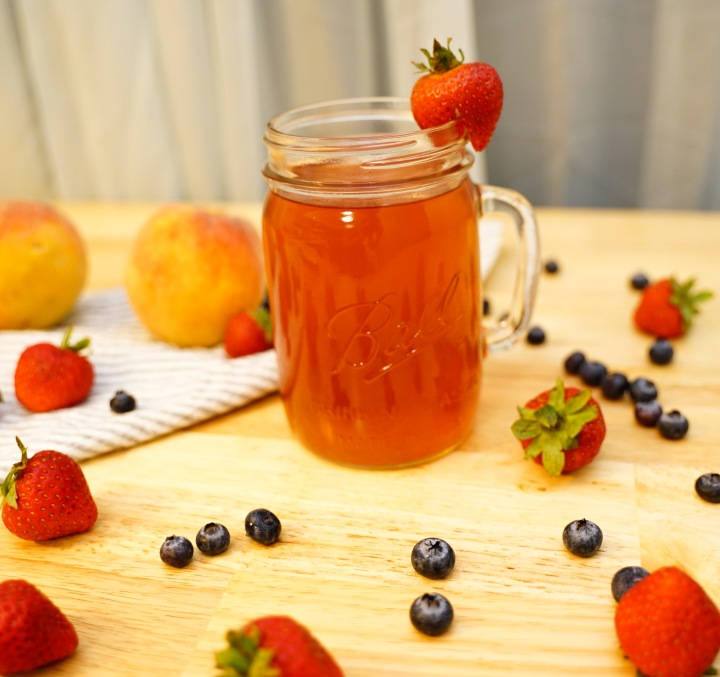 Strawberry & Peach Kompot