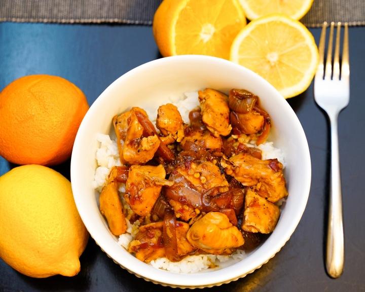 Honey Citrus Chicken