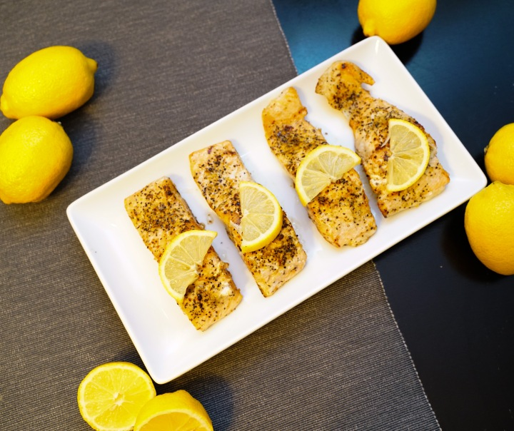 Pan-Fried Lemon Salmon