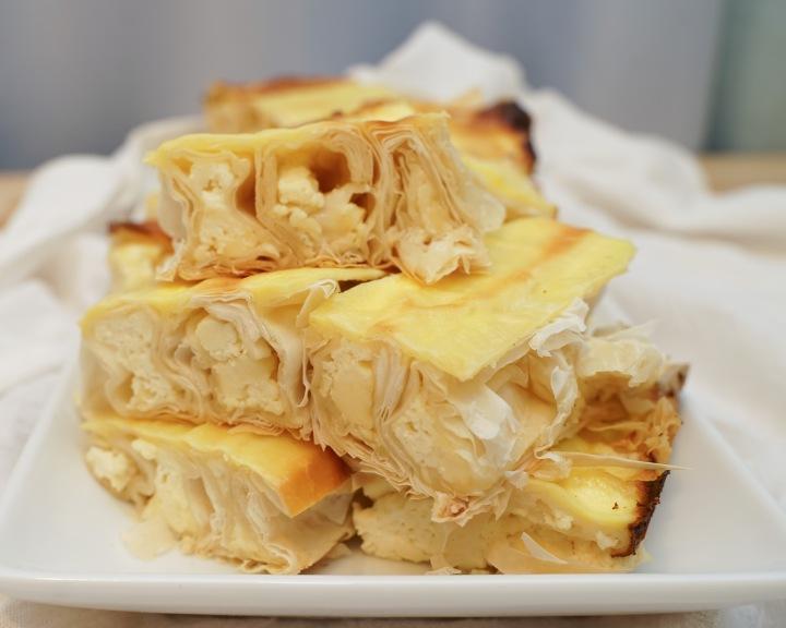 Moldavian Cheese Strudel(Placinta)