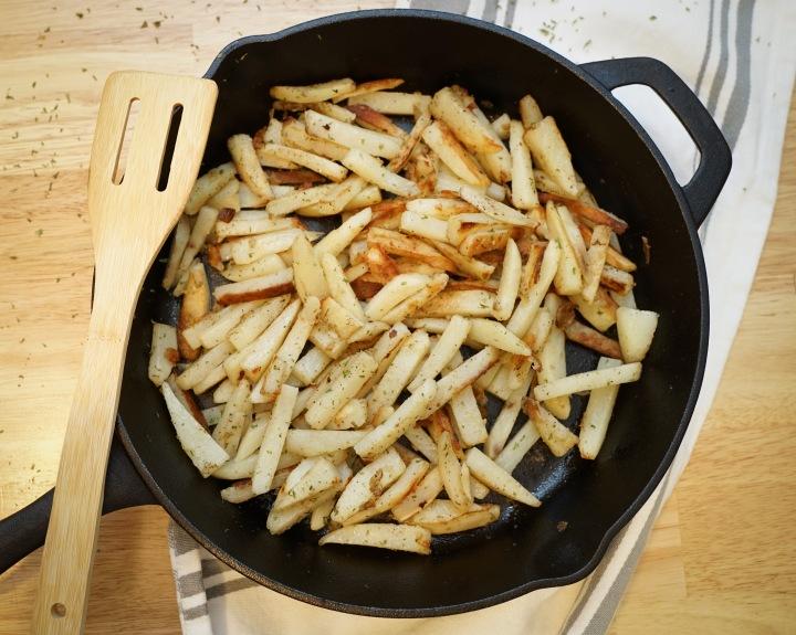 Pan Seared Potatoes