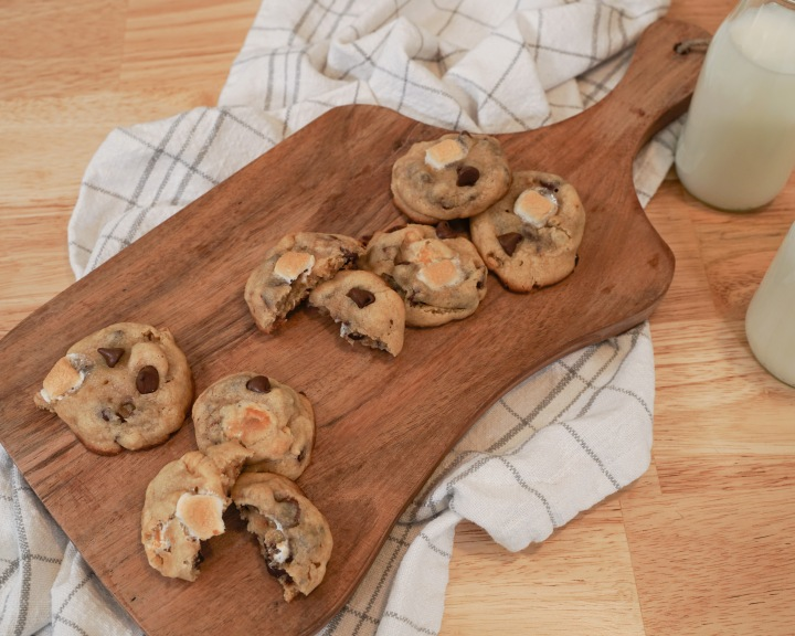 S'mores Cookies (VIDEO)